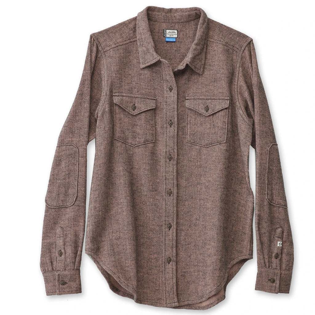 Kavu Womens Hadley L/S Top - Rose Quartz - Seaside Surf Shop