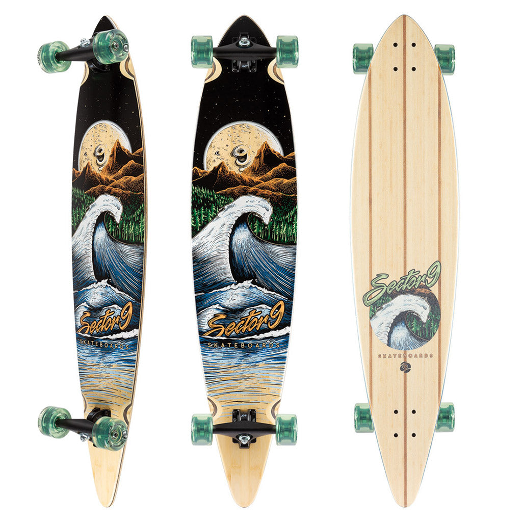 "Sector 9 Moonlight Maverick Complete - 44"" - Seaside Surf Shop"