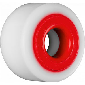 Hardcore Barrel 88A Bushings - White/Red-Bones-Seaside Surf Shop