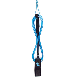 Creatures 9' Longboard Knee Leash - Blue/Black-Creatures of Leisure-Seaside Surf Shop