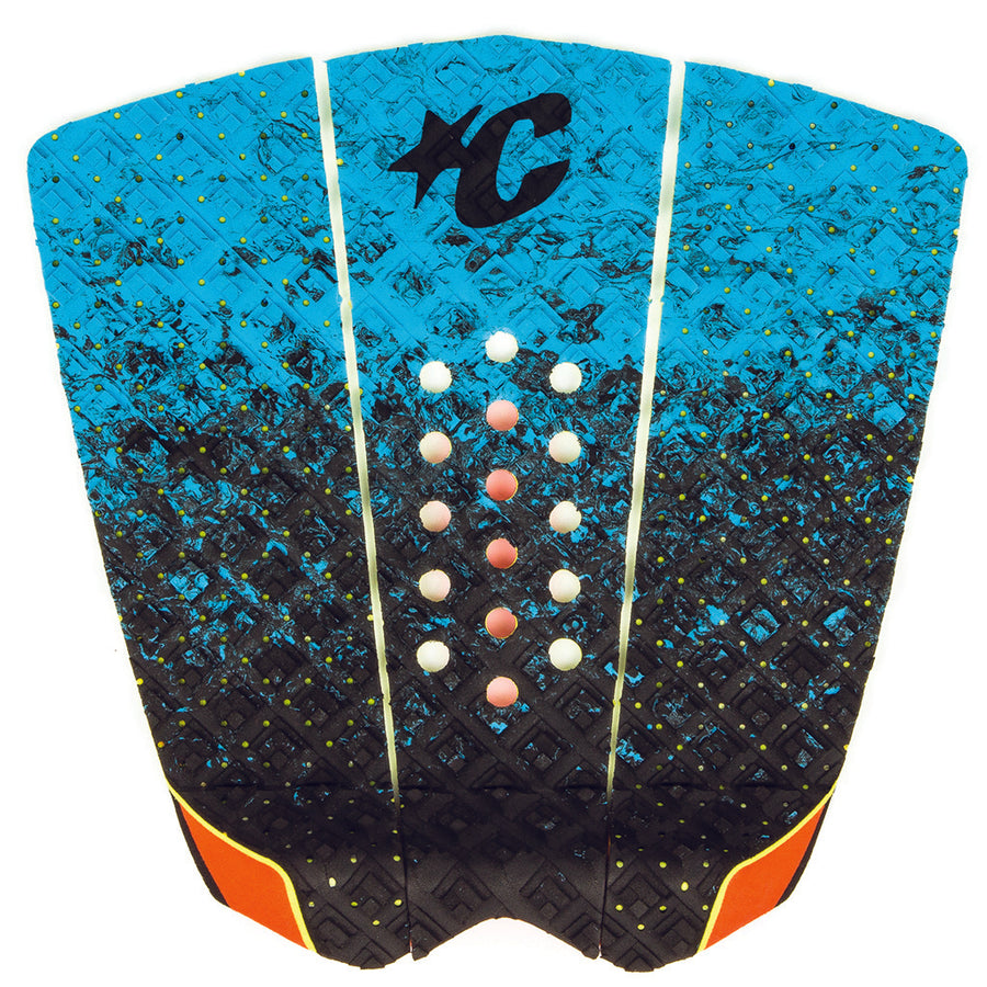 Creatures Griffin Colapinto Signature Traction Pad - Cyan Fade Orange-Creatures of Leisure-Seaside Surf Shop