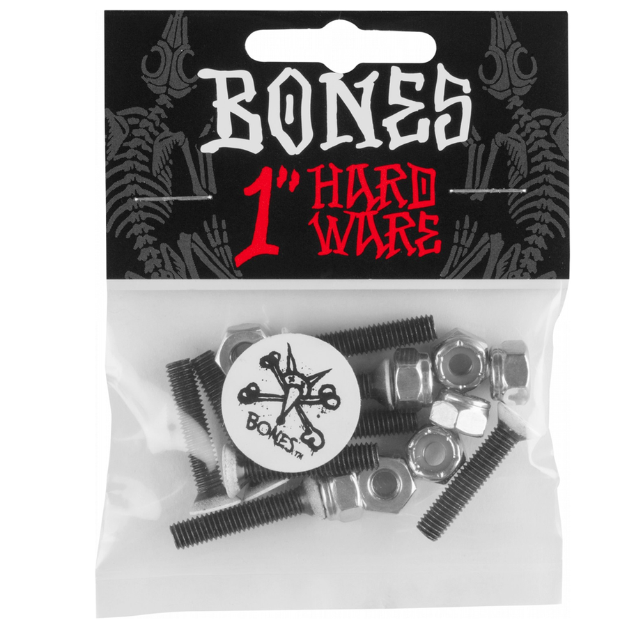 "Bones Wheels Hardware 1"" Single Pk"