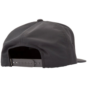 Salty Crew Mens Harbor 5 Panel Cap - Charcoal