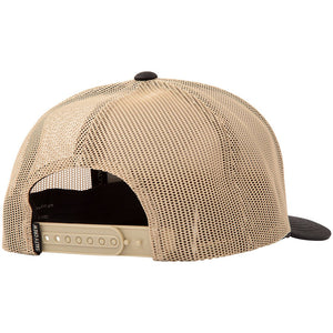 Salty Crew Mens Sea Line Retro Trucker - Black/Tan