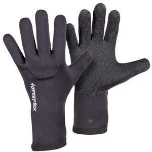 Hyperflex Axs Series 3mm Five Finger Glove - Black