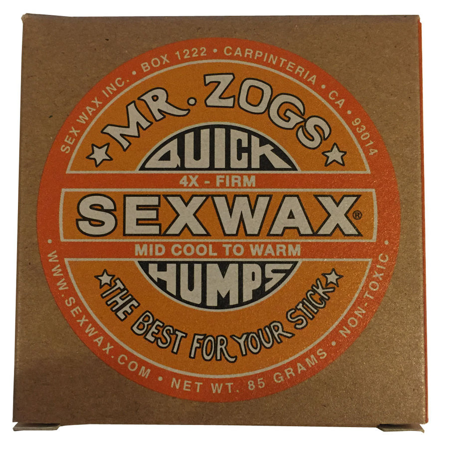 Sex Wax 4x Firm-Zogs Sex Wax-Seaside Surf Shop