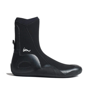 Imperial Motion Lux 5mm Round Toe Wetsuit Booties - Black, Wetsuit Accessories, Imperial Motion Wetsuits, 5mm Boots, meta-size-chart-imperial-motion-wetsuit-size-chart, Super snug, warm, and second skin to your feet. Imperial Motion Lux 5mm Round Toe Wetsuit Booties - Black