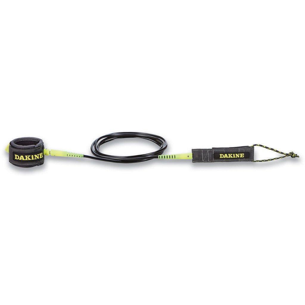 -Surf Accessories-Dakine 10'x1/4 Longboard Ankle Leash - Gunmetal-Dakine-Seaside Surf Shop