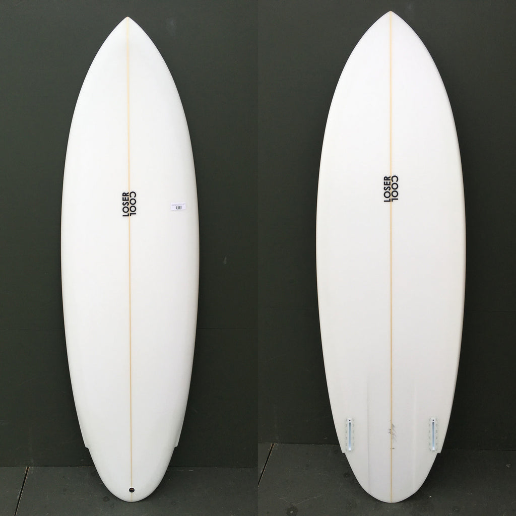 "Loser Cool Surfboards - 5'9"" Wing Round Tail Surfboard"