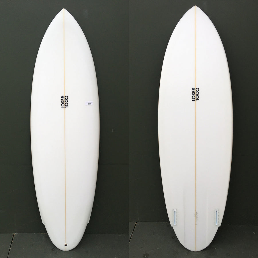 "-Used Surfboards-Loser Cool Surfboards - 5'9"" Wing Round Tail Surfboard-Used Surfboards-Seaside Surf Shop"