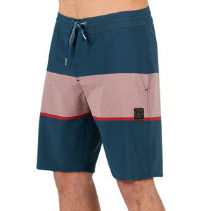 -Swimwear-Volcom Mens Quarta Static Stoney Boardshort - Toffee-Volcom-Seaside Surf Shop