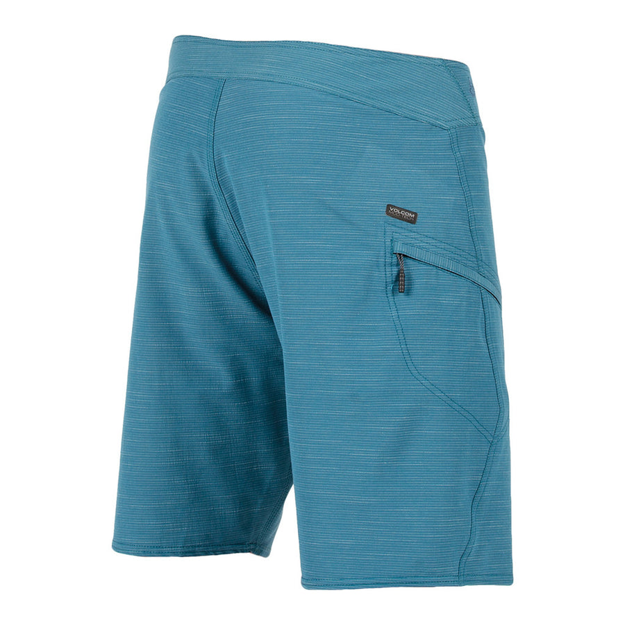 -Swimwear-Volcom Mens Slub Mod 20 Boardshort - Flight Blue-Volcom-Seaside Surf Shop