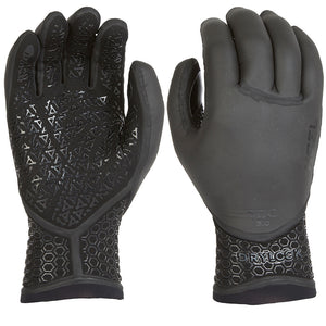Xcel Drylock 3mm 5 Finger Glove - Black-Xcel Wetsuits-Seaside Surf Shop