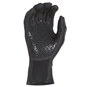 '-Wetsuit Accessories-Xcel Infiniti 1.5mm 5-Finger Gloves - Black-Xcel Wetsuits-Seaside Surf Shop