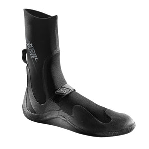 Xcel Xplorer 5mm Round Toe - Black, Wetsuit Accessories, Xcel Wetsuits, 5mm Boots, meta-size-chart-xcel-wetsuit-size-chart, A durable, warm boot with 100% Ultra-Stretch neoprene and premium glued & blindstitched seams that are sealed with outer taitex to keep water out and warmth in. Adjustable velcro straps for a comfortable, snug fit, Pressure Bonded back ankle pull loop for easy on/off. Xplorer 5mm Round Toe Boot.