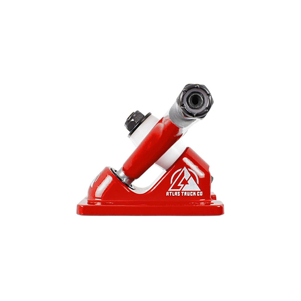 Atlas Trucks Ultralight 8mm 48º 180mm RKP Truck Set - Red - Seaside Surf Shop