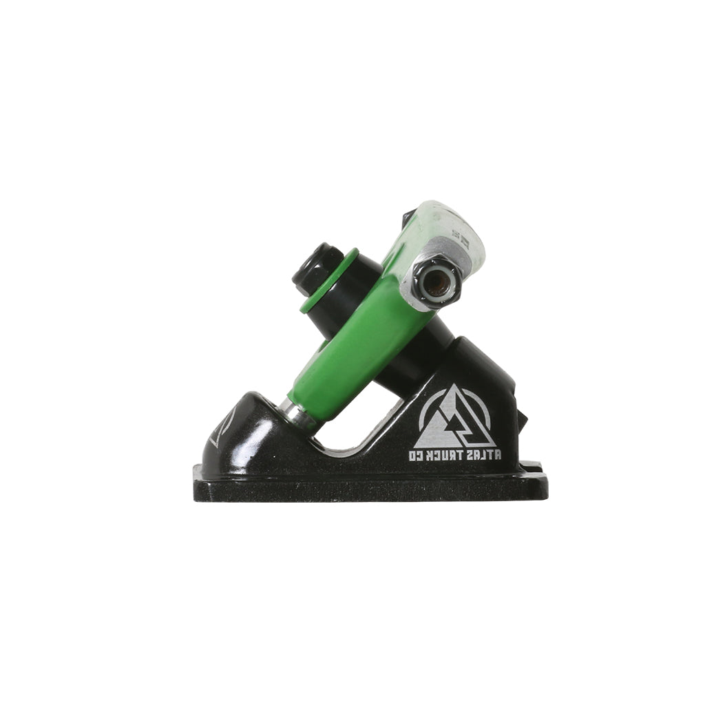 Atlas Trucks Ultralight 8mm 48º 180mm RKP Truck Set - Green/Black - Seaside Surf Shop