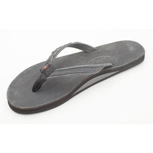 Rainbow Sandals Womens Madison - Black Leather-Rainbow Sandals-Seaside Surf Shop