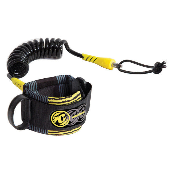 Creatures Coiled Bodyboard Deluxe Wrist Leash - Seaside Surf Shop 
