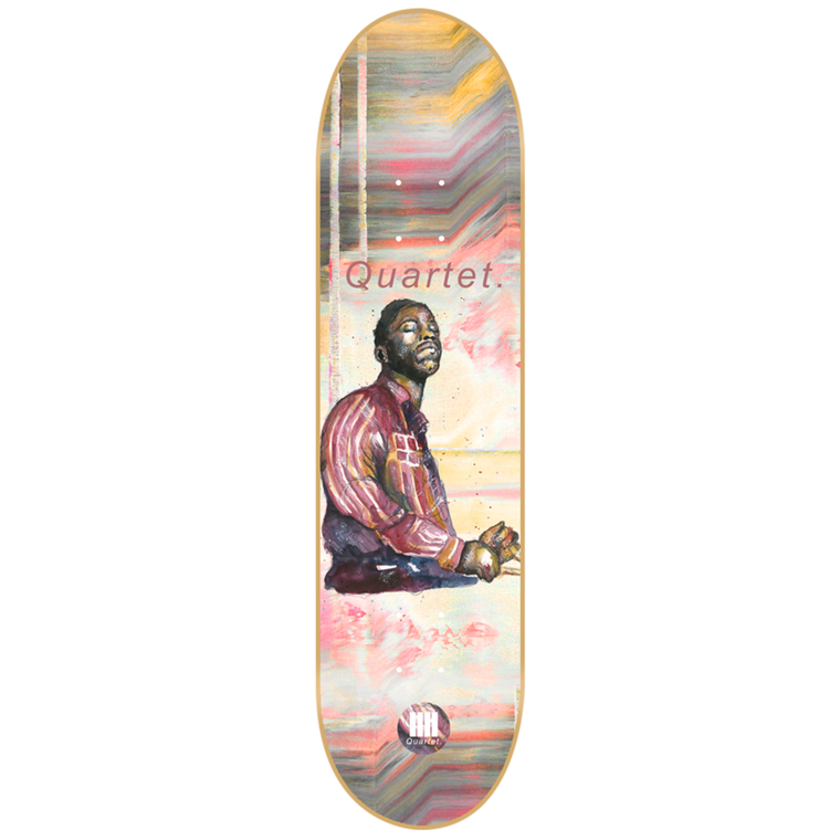 "-Skate-Quartet Skateboards Art Blakey Deck - 8.25""-Quartet Skateboards-Seaside Surf Shop"