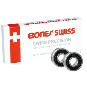 Bones Swiss Skateboard Bearings 8 Pack-Bones-Seaside Surf Shop