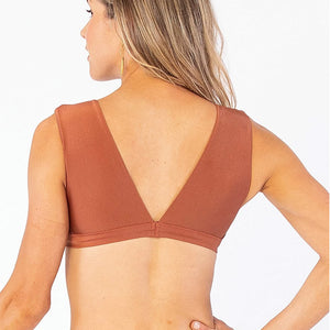 Carve Designs Womens Cayman Top - Cinnamon Shimmer