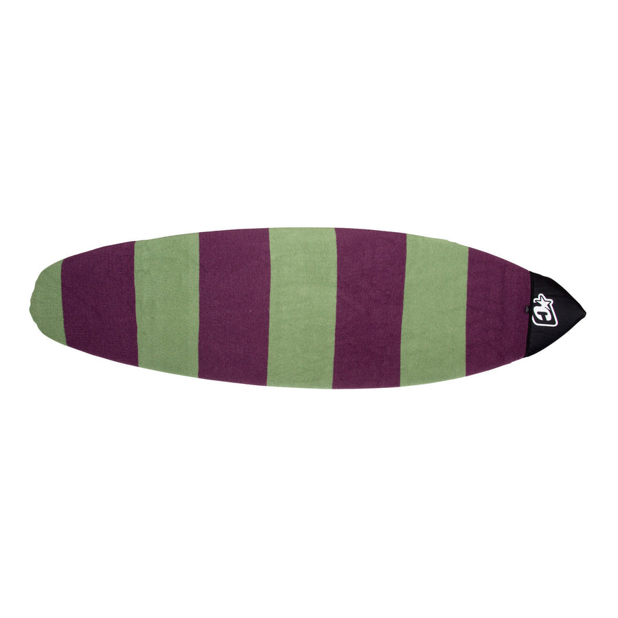 '-Surf Accessories-Creatures Retro/Wide/Fish Sox - Slate Plum-Creatures of Leisure-Seaside Surf Shop