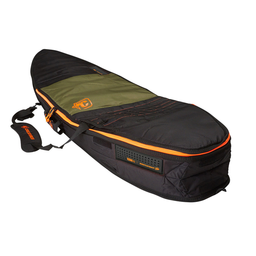 '-Surf Accessories-Creatures Shortboard Travel Bag - Army Orange-Creatures of Leisure-Seaside Surf Shop