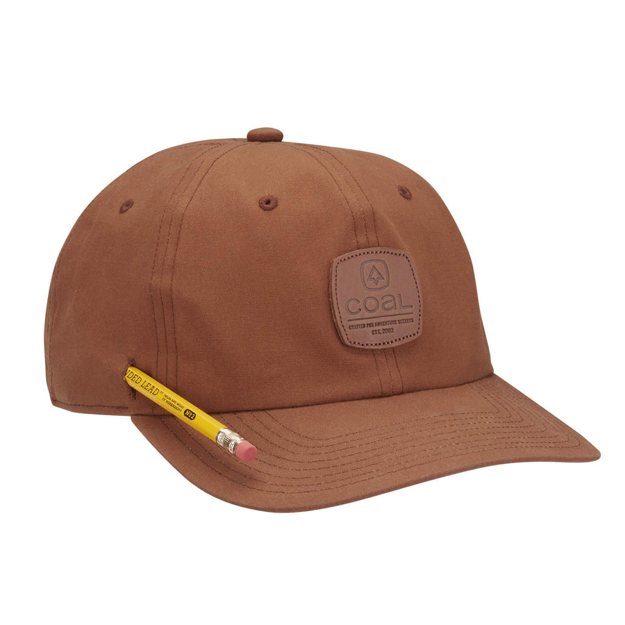 Coal Mens The Cypress Waxed Canvas Workwear Hat - Light Brown