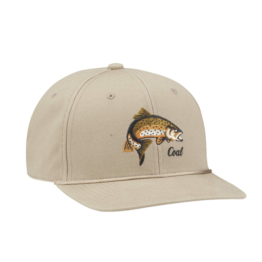 Coal Mens The Wilderness Low Profile Animal Snapback - Khaki
