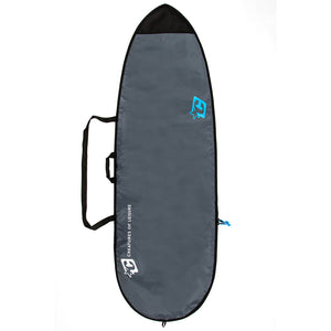 Creatures Fish Lite Bag - Charcoal/Cyan, Surf Accessories, Creatures of Leisure, Creatures of Leisure, New 2018 Wide Board Bags for Fish Surfboards and other retro tail styled boards.