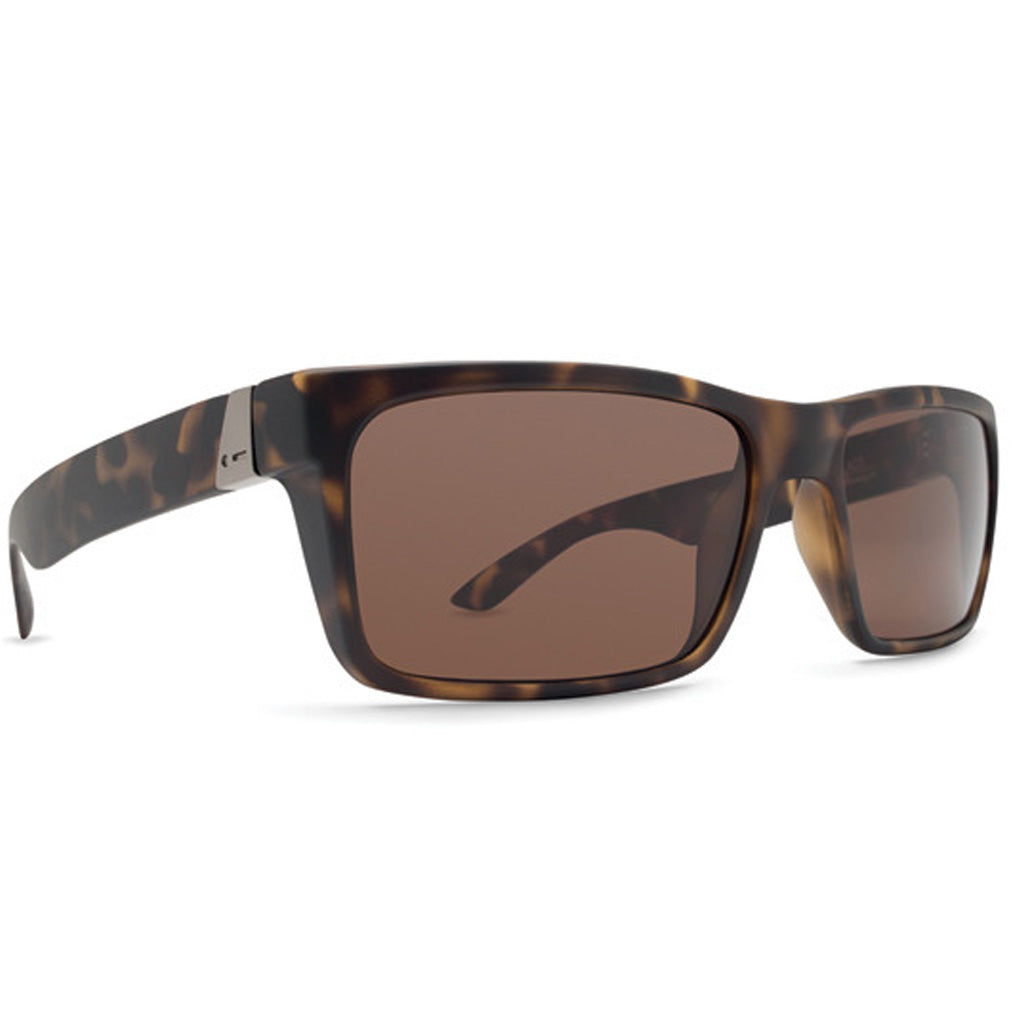 Dot Dash Lads Sunglasses - Tortoise Satin/Bronze Polarized - Seaside Surf Shop