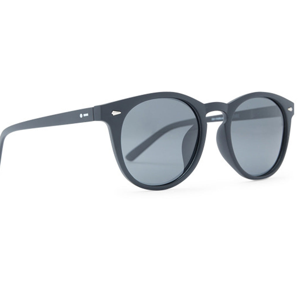 Dot Dash Strobe Sunglasses - Black Satin/Grey Polarized - Seaside Surf Shop