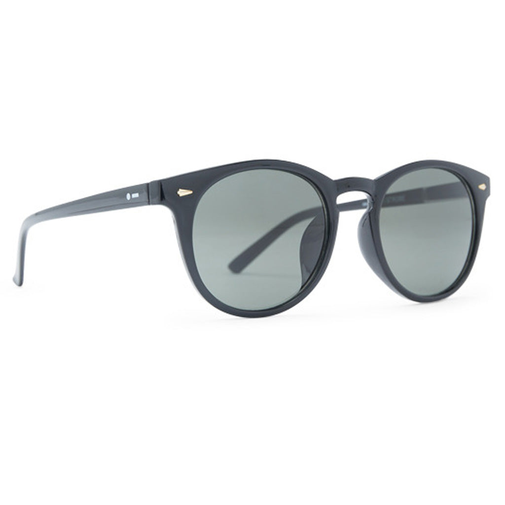Dot Dash Strobe Sunglasses - Black Gloss/Vintage Grey - Seaside Surf Shop