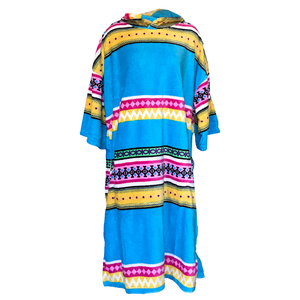 Blocksurf Changing Robe - Ethnic Stripe-Blocksurf-Seaside Surf Shop