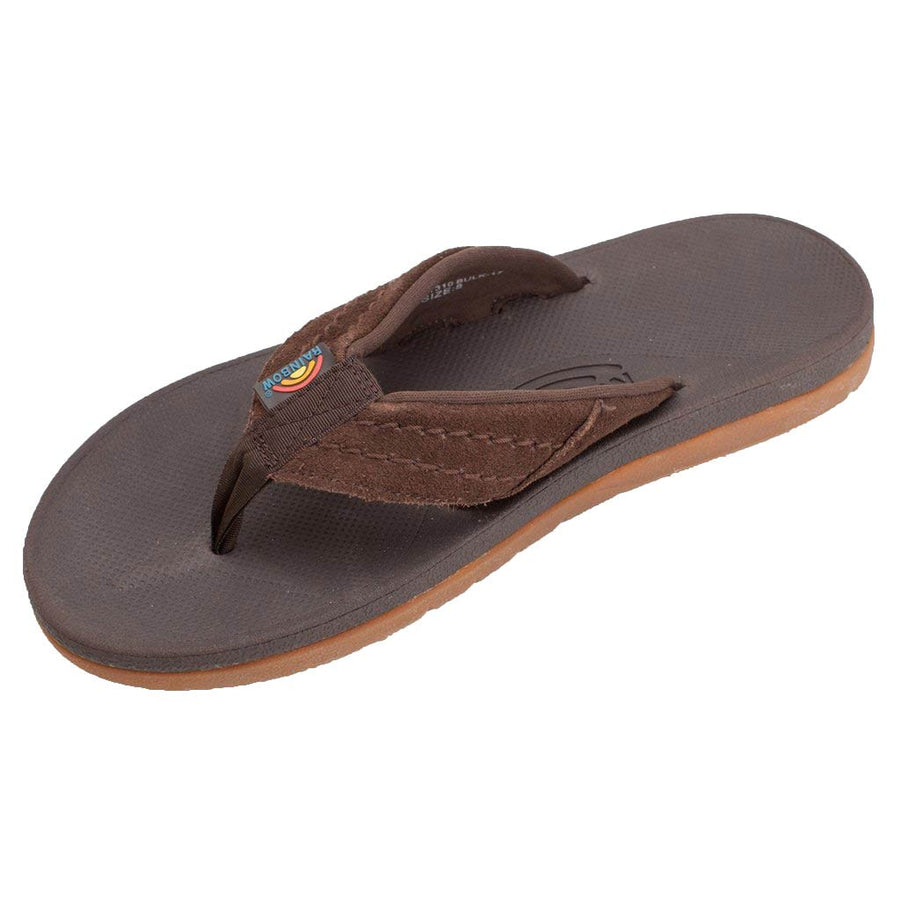 Rainbow Sandals Mens East Cape - Dark Brown-Rainbow Sandals-Seaside Surf Shop