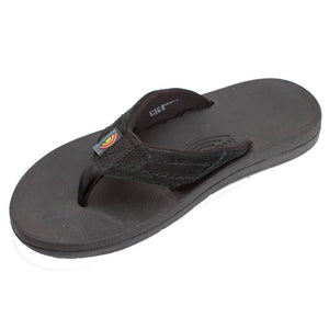 Rainbow Sandals Mens East Cape - Black-Rainbow Sandals-Seaside Surf Shop