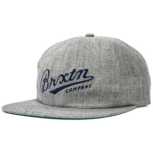 Brixton Mens Fenway Cap - Light Heather Grey-Brixton-Seaside Surf Shop