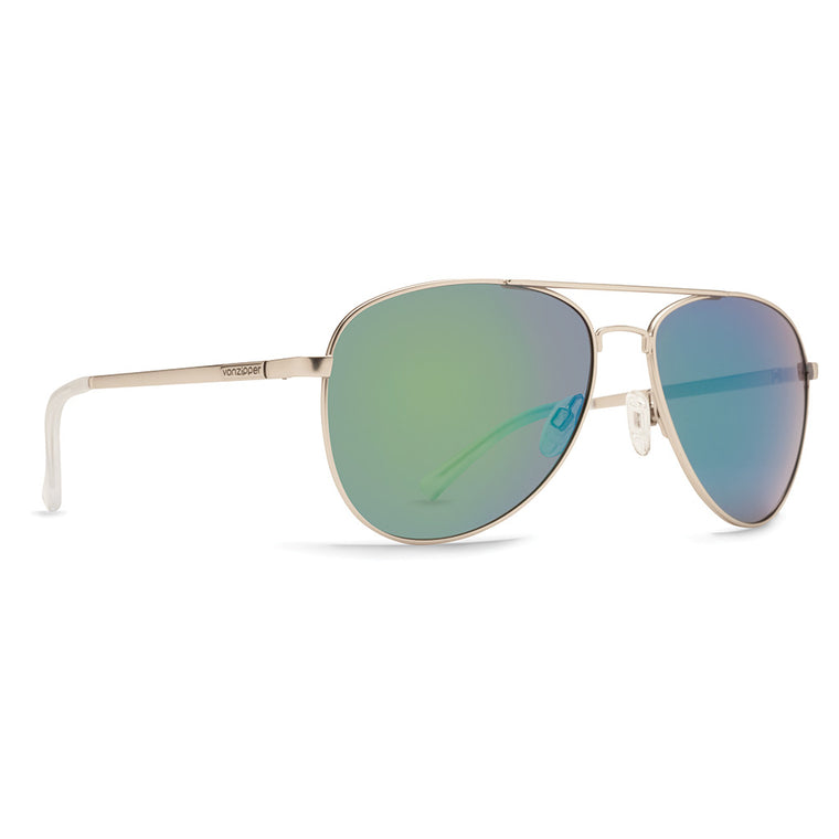 -Sunglasses-Von Zipper Farva - Silver Satin/Quasar Glo-Von Zipper-Seaside Surf Shop