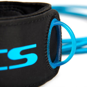 FCS Freedom Leash 6' Surfboard Leash - Blue-FCS-Seaside Surf Shop