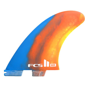 FCS II Mark Richards Twin + Stabilizer Fins - Swirl Colors