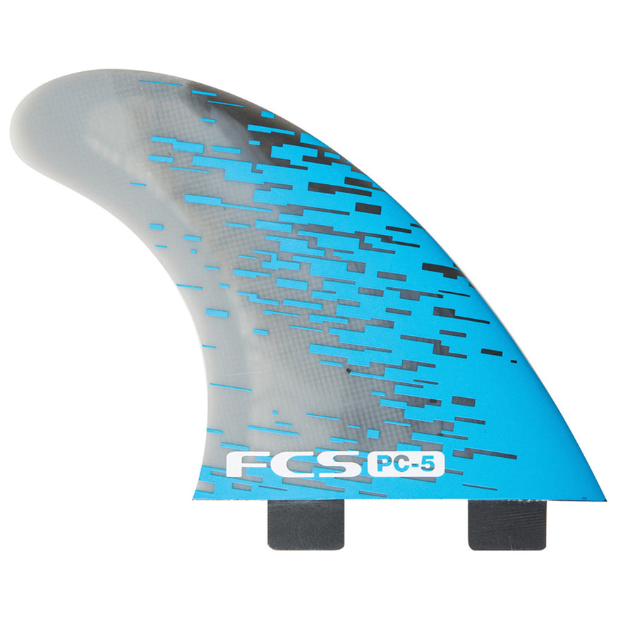 PC-5 Blue Smoke Tri Retail Fins