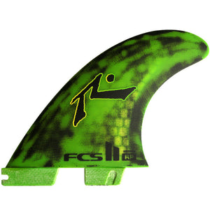 FCS II RP PC Medium Tri-Quad Retail Fins
