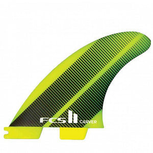 FCS II Carver Neo Glass Large Acid Gradient Tri Fins, Surf Accessories, FCS, Tri Fin, FCS II Carver Neo Glass Large Acid Gradient Tri Fins