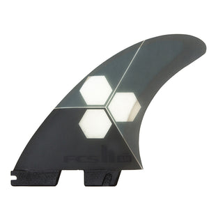 FCS II AM PC Medium Grey Tri Retail Fins
