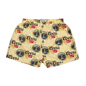 Brixton Mens Filtered 2pk Boxer - Buff