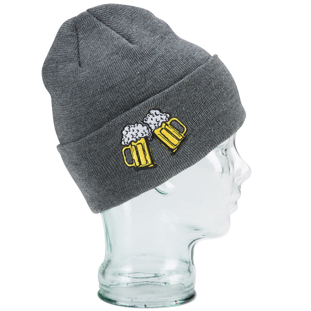 Coal The Crave Beer Beanie - Charcoal