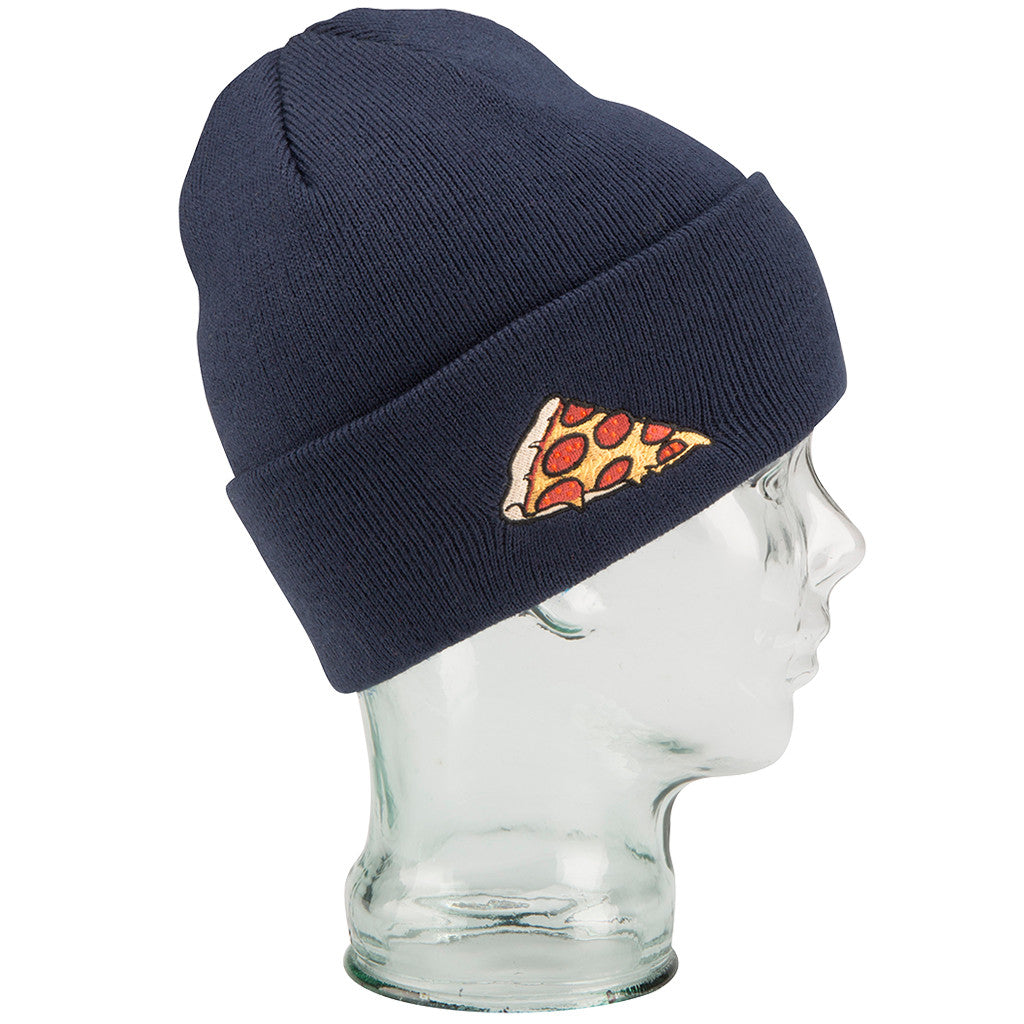 -Apparel Accessories-Coal The Crave Pizza Beanie - Navy-Coal Headwear-Seaside Surf Shop