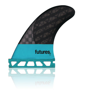 Futures Fins - F4 Blackstix 3.0 Tri-Fin Set - Seaside Surf Shop