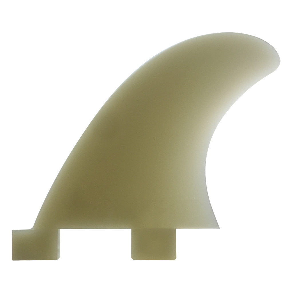 FCS GX Natural Glass Flex Quad Rear Side Fin Set - Extra Small - Seaside Surf Shop